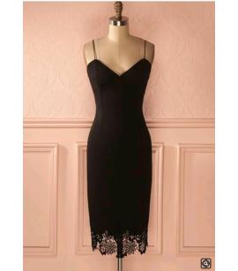 Kalem askılı  elbise  byz-k200153