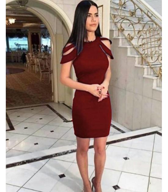 Mini kalem elbise byz300201