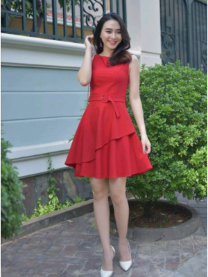 Mini ikili elbise byz30b3013
