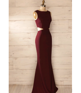 Uzun elbise byz-k200171